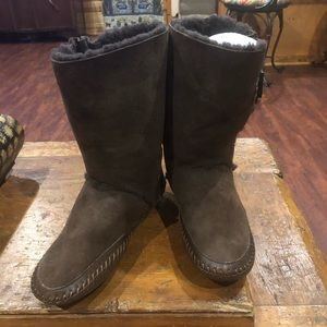 Tory Burch Leather Boot